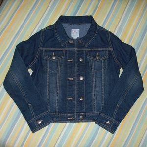 Girl's Children's Place Jean Jacket Large 10/12